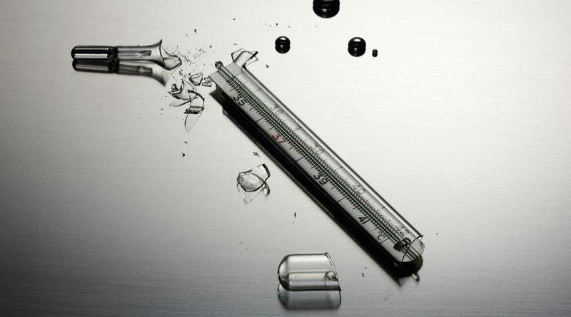 Les Dangers du thermomètre médical au mercure